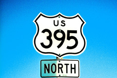 us highway 395 to mammoth